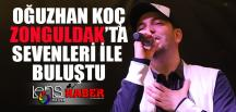 Oğuzhan Koç Zonguldak'ta Sevenleri İle Buluştu