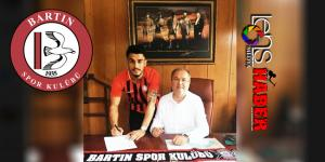 Zonguldaklı genç forvet Bartınspor'a imza attı