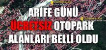 ÜCRETSİZ OTOPARK ALANLARI BELLİ OLDU