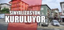 SİNYALİZASYON KURULUYOR