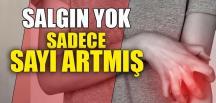 SALGIN YOK, SADECE SAYI ARTMIŞ