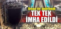 DRONE İLE TESPİT EDİLDİ