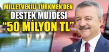 ZONGULDAK'A 50 MİLYON TL DESTEK