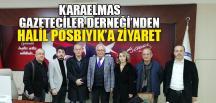 KGD'DEN HALİL POSBIYIK'A ZİYARET