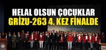 GRİZU-263 4. KEZ FİNALDE
