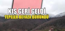 KIŞ GERİ GELDİ