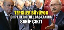 CHP'LİLER GENEL BAŞKANINA SAHİP ÇIKTI
