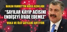 """""""CORONAVİRÜS'TEN ÖLEN SAYISI 59 OLDU"""""""