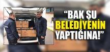 """""""BAK ŞU BELEDİYENİN YAPTIĞINA!"""""""