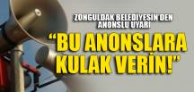 BU ANONSLARA KULAK VERİN!