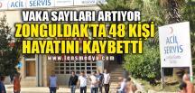 ZONGULDAK'TA 48 KİŞİ HAYATINI KAYBETTİ