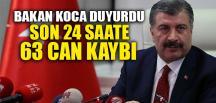 SON 24 SAATTE 63 CAN KAYBI