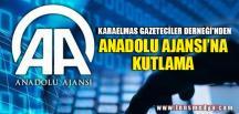 KGD'DEN ANADOLU AJANSI'NA KUTLAMA