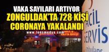 728 KİŞİ CORONAYA YAKALANDI