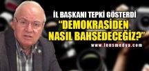 """""""DEMOKRASİDEN NASIL BAHSEDECEĞİZ?"""""""