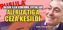 PUSULA GAZETESİ'NE CEZA!