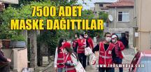 7500 ADET MASKE DAĞITTILAR