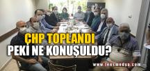 CHP TOPLANDI