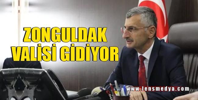 ZONGULDAK VALİSİ GİDİYOR..